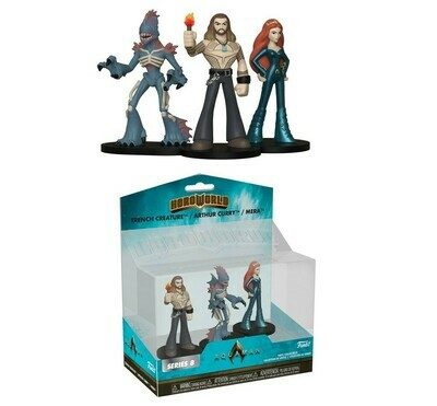 Arthur Curry, Trench Creature, Mera Aquaman DC Funko HeroWorld Series 8 Target Exclusive Figure Set