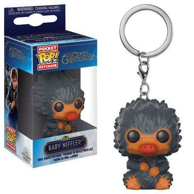 Baby Niffler (Grey) Fantastic Beasts The Crimes of Grindelwald Funko Pocket Pop Keychain