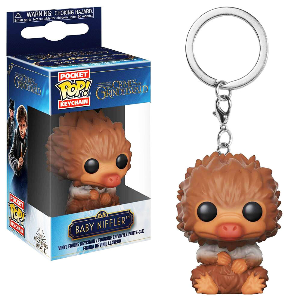 Baby Niffler (Tan) Fantastic Beasts Crimes of Grindelwald Funko Pocket Pop Keychain