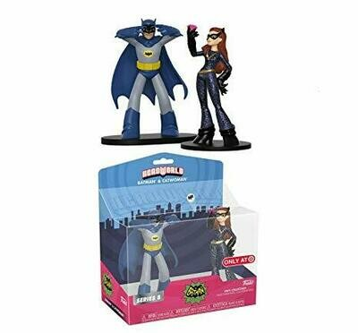 Batman & Catwoman Classic TV Series Funko HeroWorld Series 8 Target Exclusive