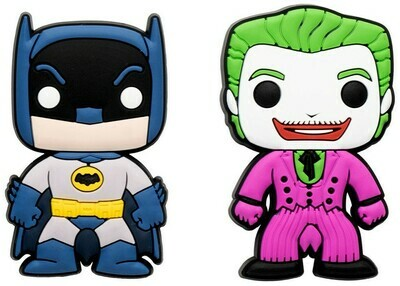 Batman and Joker Batman Classic TV Series Funko Pop Magnet 2-Pack Target Exclusive