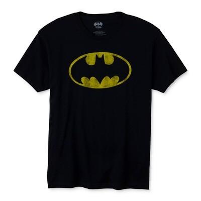 Batman Distressed Logo DC Comics T-Shirt