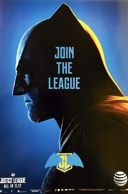 Batman Join the League Justice League DC Poster