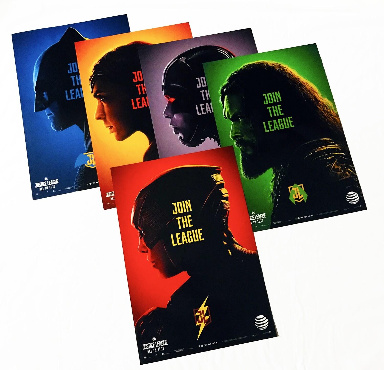 Join the League Justice League DC 5-Poster Set