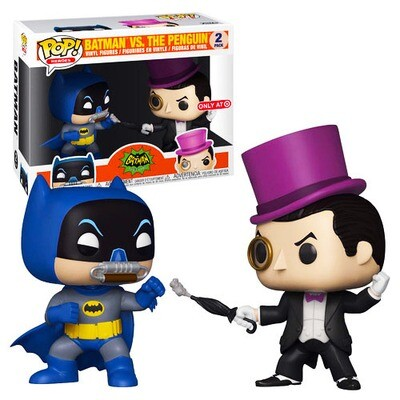 Batman vs. The Penguin Batman Classic TV Series Funko Pop 2-Pack Target Exclusive