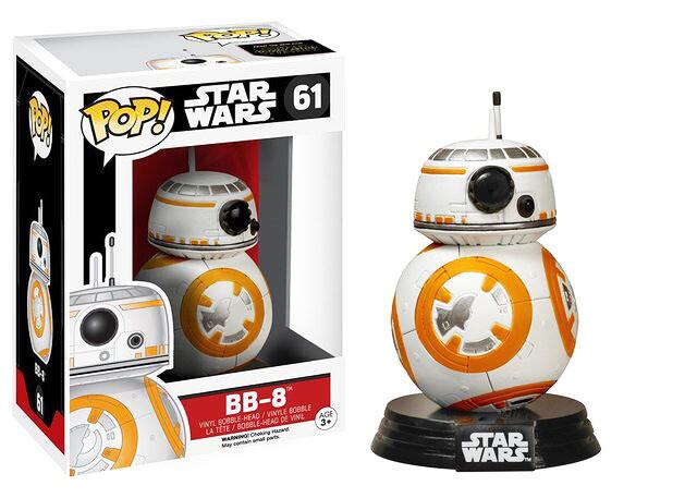 BB-8 Star Wars The Force Awakens Funko Pop 61