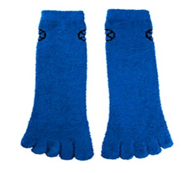Beast X-Men Marvel Fuzzy Toe Crew Socks Marvel Collectors Corps Exclusive