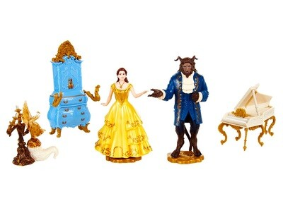 Beauty and the Beast Live Action Disney Enchanted Figurine Set