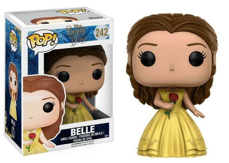 Belle with Rose Beauty and the Beast Live Action Disney Funko Pop 242