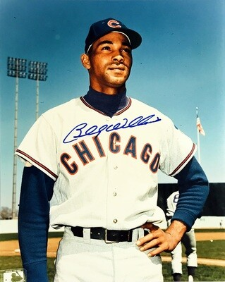 Billy Williams Chicago Cubs MLB Autographed 8x10 Photo (w/ Certificate of Authenticity)
