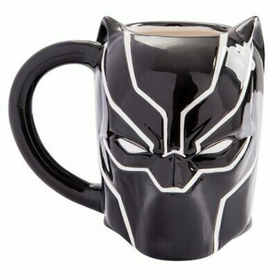 Black Panther Marvel Avengers 20 oz Sculpted Ceramic Mug