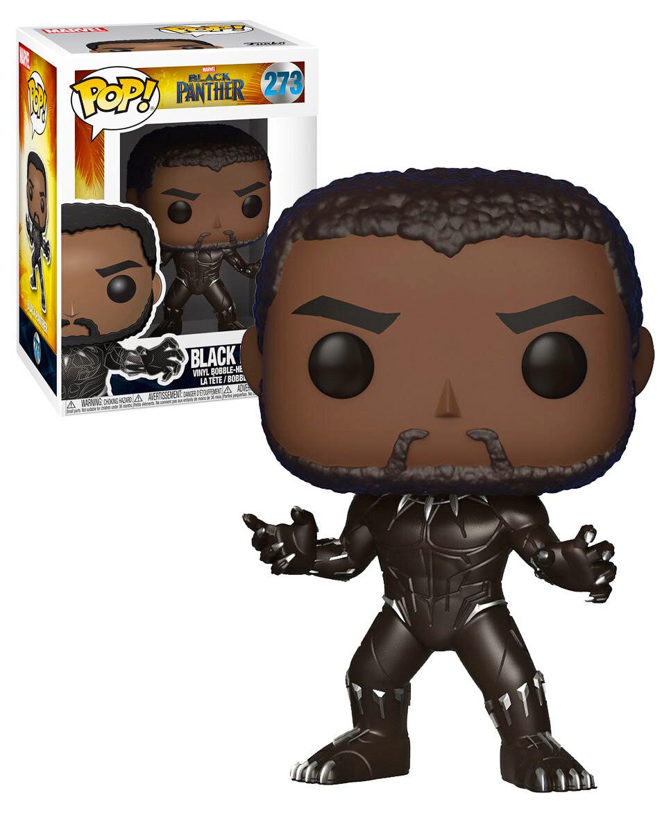 Black Panther Unmasked Marvel Black Panther Movie Funko Pop 273