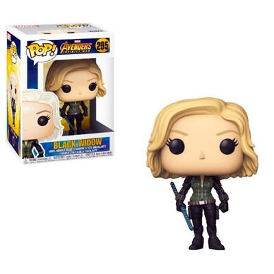 Black Widow Marvel Avengers Infinity War Funko Pop 295