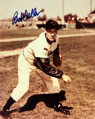 Bob Feller Cleveland Indians MLB Autographed 8x10 Photo (w/ Certificate of Authenticity)