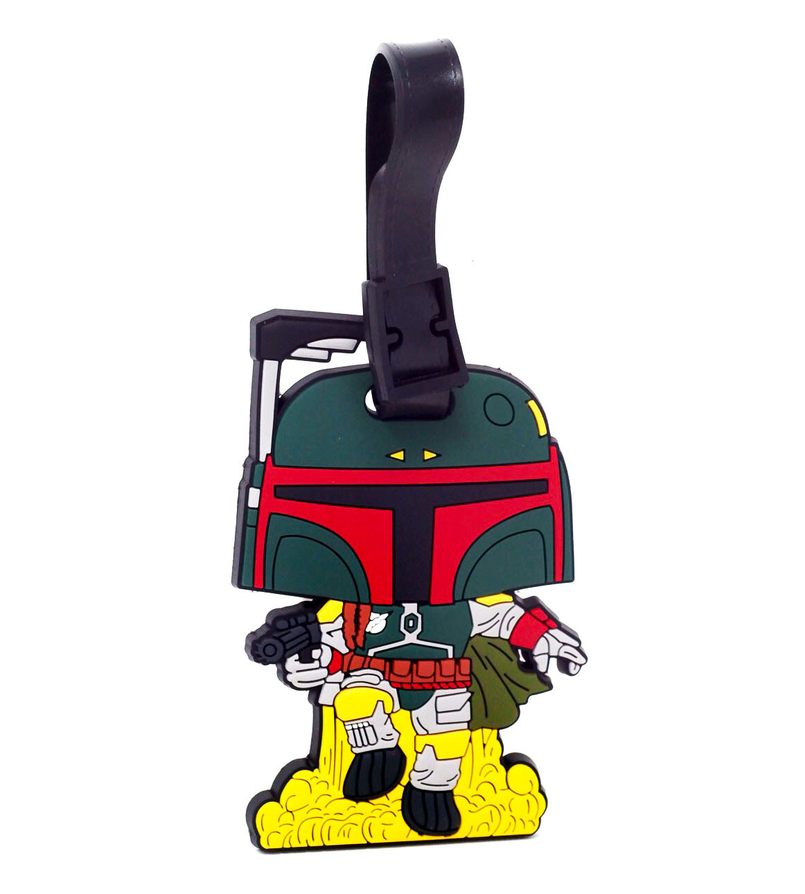 Boba Fett Jet Pack Star Wars Funko Pop Rubber Luggage Tag Smuggler's Bounty Exclusive