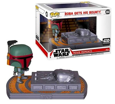 Boba Gets His Bounty Star Wars Funko Pop Movie Moments 280 Smuggler's Bounty Exclusive