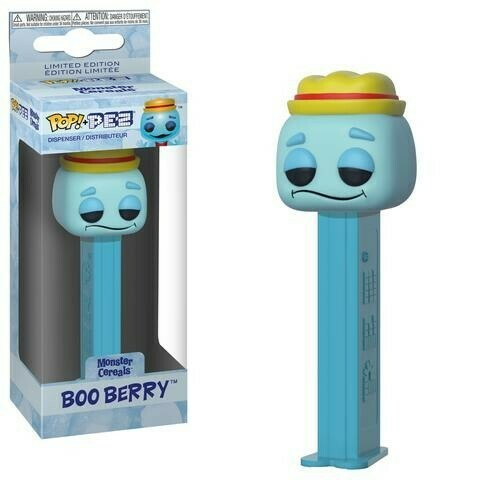 Boo Berry Ad Icons Monster Cereals Funko Pop Pez Candy Dispenser Gamestop Exclusive