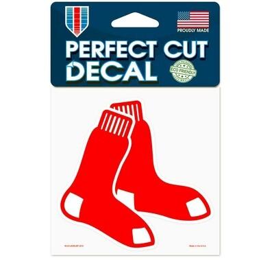 Boston Red Sox Socks Logo MLB 8x8