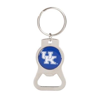 University of Kentucky UK NCAA Bottle Opener Keychain Ring
