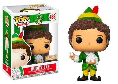 Buddy Elf (with Snowballs) Elf Funko Pop Movies 488 BoxLunch Exclusive