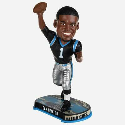Cam Newton Carolina Panthers NFL Forever Collectibles FoCo Headline Bobblehead