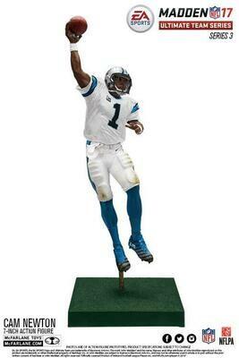 Cam Newton Carolina Panthers EA Sports Madden NFL 17 Ultimate Team Series 3 McFarlane Figure