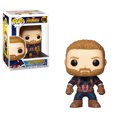 Captain America Marvel Avengers Infinity War Funko Pop 288