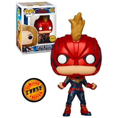 Captain Marvel (Masked) Marvel Captain Marvel Funko Pop 425 Chase Limited Edition