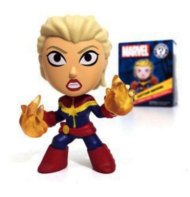 Captain Marvel Funko Mini Figure Marvel Collector Corps Exclusive