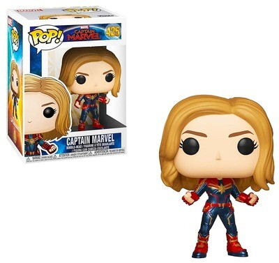 Captain Marvel Funko Pop 425
