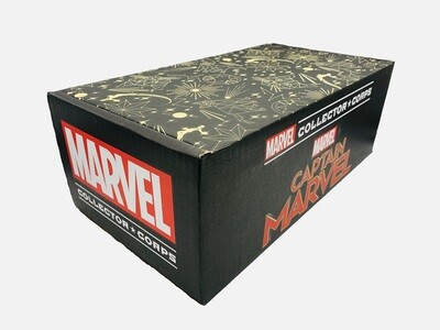 Captain Marvel Galaxy and Goose Constellations Decorated Gift Box Collector Corps Exclusive