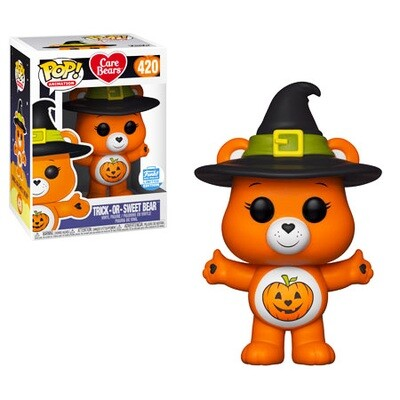Trick-or-Sweet Bear Care Bears Funko Pop Animation 420 Funko Shop Limited Edition Exclusive