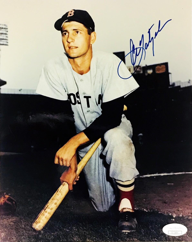 Carl Yastrzemski Boston Red Sox MLB Autographed 8x10 Photo (w/ JSA Certificate of Authenticity)