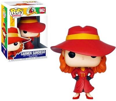 Carmen Sandiego Where in the World is Carmen Sandiego? Funko Pop Television 662