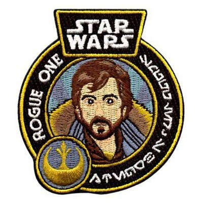 Cassian Andor Star Wars Rogue One Iron-On Patch Smuggler's Bounty Exclusive