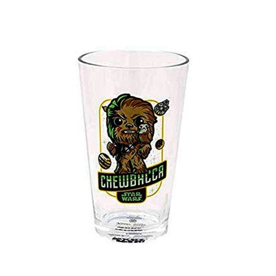 Chewbacca with Porg Star Wars Pint Glass Smuggler's Bounty Exclusive