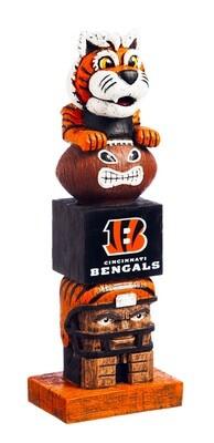 Cincinnati Bengals NFL Garden Statue Spirit Totem