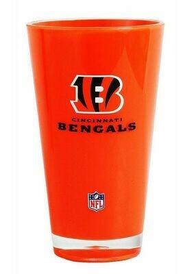 Cincinnati Bengals NFL Orange 20 oz Plastic Tumbler