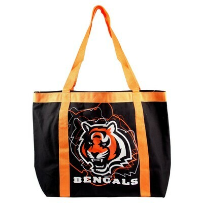 Cincinnati Bengals NFL Team Tailgate Canvas Tote Bag