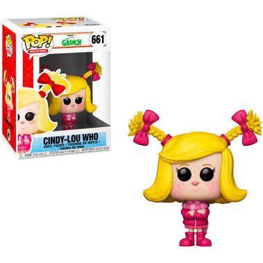 Cindy-Lou Who Dr. Seuss' The Grinch Funko Pop 661