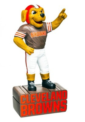 Cleveland Browns NFL Team Mascot Statue (PRE-ORDER)