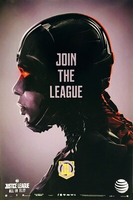Cyborg Join the League Justice League DC Poster