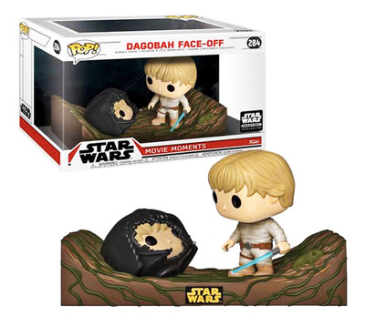Dagobah Face-Off Star Wars Funko Pop Movie Moments 284 Smuggler's Bounty Exclusive
