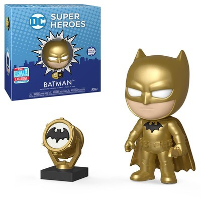 Batman (Golden Midas) with Gold Bat Signal DC Super Heroes 5-Star Figure Fall Convention Exclusive Limited Edition