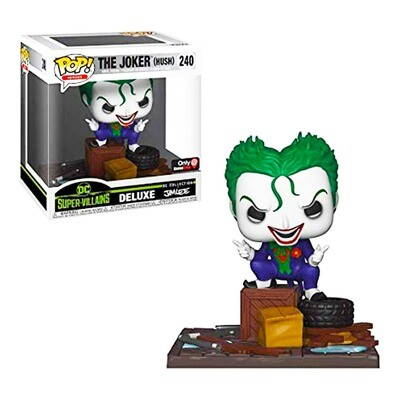 Joker (Hush) Jim Lee DC Super-Villains Collection Funko Pop Heroes Deluxe 240 Gamestop Exclusive