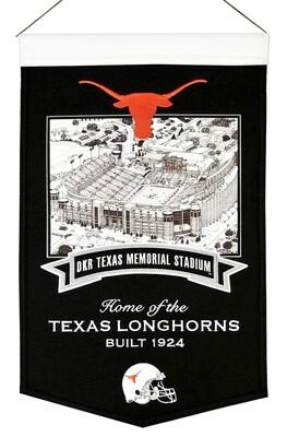 DKR Texas Memorial Stadium University of Texas Longhorns NCAA Stadium Felt Wall Banner