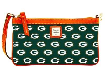 Green Bay Packers Dooney & Bourke NFL Large Wristlet