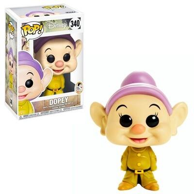 Dopey Snow White 80th Anniversary Disney Funko Pop 340