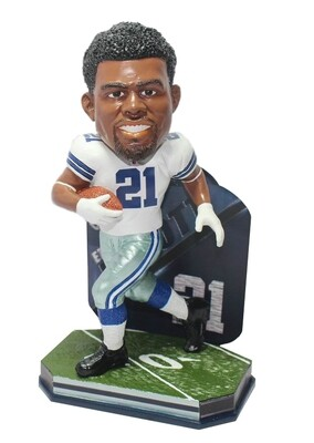 Ezekiel Elliott Dallas Cowboys NFL Name and Number Forever Collectibles FOCO Bobblehead