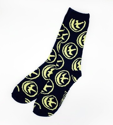 House Arryn Falcon and Moon Sigil Game of Thrones Crew Socks